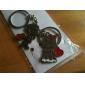 marié et porte-clés en métal en forme de mariée (1 paire)