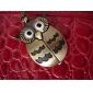 Women's Watch Owl Style Keychain Pocket Watch