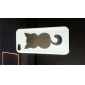 Novelty Designed Transparent Cat Pattern TPU Soft Case iPhone 5 (Optional Colors)