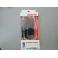 Black USB 2.0 Emergency Charger with Data Cable for Samsung Mobile Phone