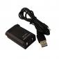 4800mAh bateria recarregável com cabo USB de carregamento para Xbox 360 controle sem fio