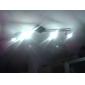 GU10 Faretti LED MR16 3 LED ad alta intesità 310 lm Bianco caldo Intensità regolabile AC 220-240 V