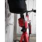bicyclette 7 en mode 5 LED rouge éclairage de sécurité d'avertissement de queue de lumière (2 piles AAA)