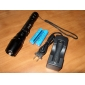 E3 Focus Adjustable Zoom 5-Mode Cree XM-L T6 LED Flashlight Set (1600LM, 2x18650)
