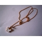 Fashion Sweet Gilt Edged Butterfly Necklace