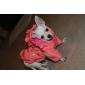 Собаки Плащи / Толстовки Розовый Одежда для собак Зима Однотонный