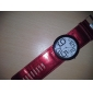 Women's Funky Numbers Style PU Leather Analog Quartz Wrist Watch (Assorted Colors)