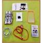 Solid Color остов прозрачный защитный жесткий чехол для iPhone 5/5S (разных цветов)