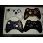 Custodia sostitutiva stile fibra di carbonio per controller wireless Xbox 360 - Nero