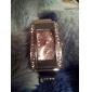 Mulheres Relógio de Moda Bracele Relógio Quartzo imitação de diamante Lega Banda Brilhante Bracelete PrataPreto Roxo Vermelho Azul Rosa
