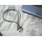 Флаг гитара аксессуары Комбинация кожаный шнур ожерелье