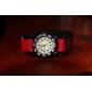 Children's Little Round Dial Nylon Nylon fastener tape Band Quartz Analog Wrist Watch (Assorted Colors)