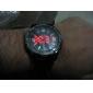 vestido reloj de los hombres weide® reloj multifunción doble horario agua de acero negro resistente