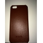 Solid Color Lichee Pattern PU Leather Hard Case for iPhone 5/5S (Assorted Colors)