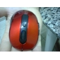 Wireless Optical Mouse + 2.4GHz USB Receiver (Red)