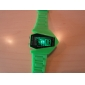Unisex Jet Aircraft LED Digital Dial Silicone Band Wrist Watch (Assorted Colors)