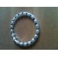 strass blanc les bracelets de perles des femmes