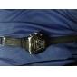 Мужская Многофункциональный шестигранной Ana-Digi Циферблат Rubber Band наручные часы Dual Time (разные цвета Dial)