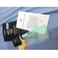 Professional Damage Protection LCD Film Guard Set with Cleaning Cloth for iPhone 4/4S