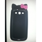 Cute Protective Silicone Case for Samsung Galaxy S3 i9300 (Assorted Colors)