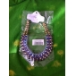 Miss ROSE®Candy Color Resin C Style Multilayer Necklace(Assorted Color)