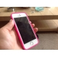 Transparent Design Durable Hard Case for iPhone 5/5S (Assorted Colors)