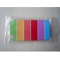 Colorful Horizontal Stripe Dull Polish Embossment Back Case for iPhone 4/4S