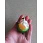 la glace à la crème mignon porte-clés en forme de gâteau (couleurs aléatoires)
