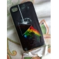 Triangle With Fire Embossment Back Case for iPhone 4/4S