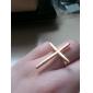 Cruz de la aleación del anillo Paattern (colores surtidos)
