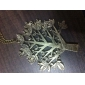 Korean wild personality leaves necklace N25