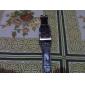 Men's Watch Dress Watch Big Square Dial PU Band Wrist Watch Cool Watch Unique Watch Fashion Watch