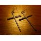 Z&X®  Cross Earrings