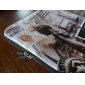 Laptop Tablet Sleeve Case Postcard Pattern Waterproof For 7
