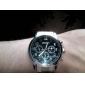 Men's Business Style Silver Alloy Quartz Wrist Watch (Assorted Colors) Cool Watch Unique Watch