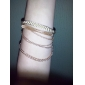 Alloy Bracelet Multilayer Weave Bracelet