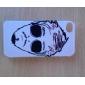 Cabeça de Homem Padrão Hard Case para iPhone 4/4S