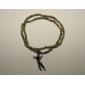 Natural Green Sandalwood Bracelet