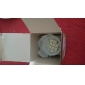 E27 3W G50 12xsmd5050 250LM 6000K холодный белый свет Светодиодные лампы глобус (100-240V)