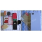 ultra tyndt gummi mat svært tilfælde dække for iPhone 4 og 4S med skærm guard (hvid)