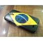 Modelo brasileño IMD caso duro para Samsung i9500 Galaxy S4