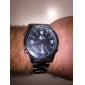 weide® Männer analog-digital geführt Vollstahlband-Armbanduhr (farbig sortiert)
