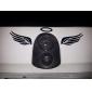 Универсальный 3D Angel Wings Halo шаблон Водонепроницаемый наклейки ПВХ для машин