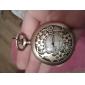 Mulheres Relógio de Bolso Quartzo Lega Banda Bronze