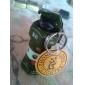 Porte-Clés Briquet avec Clip Forme Grenade - Couleurs Aléatoires
