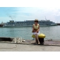 Femmes en alliage brillant Montre analogique Bague à quartz (couleurs assorties)