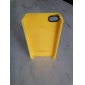 Premium Stylish Texi Protective Case for iPhone4G(Yellow)