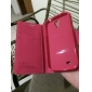 Textured Faux Leather Flip Case for Samsung Galaxy S4/ I9500(Pink)