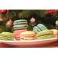 baking diy pequeno tamanho 27 buracos silicone macaroon cookies mat
