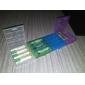 AAA / AA plastlåda innehavaren förvaringsbox (vit + lila + blå + grön)